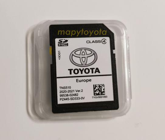 TNS510 Toyota 2020 v2 mapa aktualizacja nawigacji odblokowanie