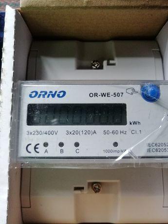 Medidor digital de energia marca orno (novo)