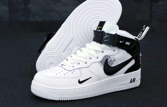 "Nike Air Force 1 07 Mid LV8 ""Black&White"""