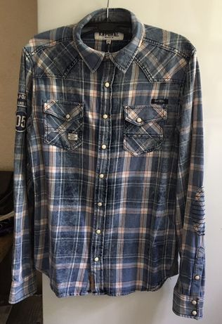 Рубашка Kaporal Jeans для мальчика, размер 164 (14-15лет)