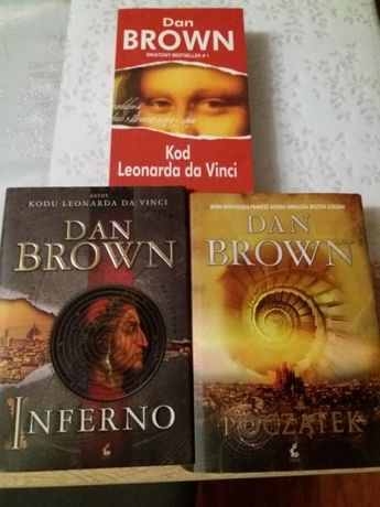 Dan Brown - pakiet 2 książek
