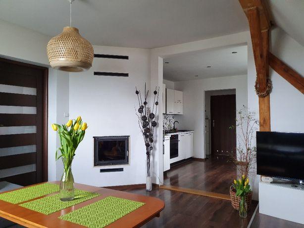 Mieszkanie 83m2+poddasze 20m2 Miękinia, bezczynszowe.