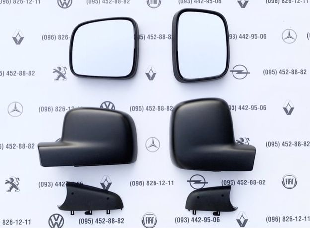 Накладка зеркало ободок крышка VW T5,T6,Caddy корпус зеркала Т5 Т6