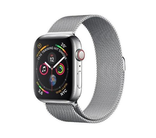 Apple Watch Series 4 40 mm LTE Steel Milanese Loop mediolańska Nowy