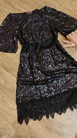Платье в паетках MONSON