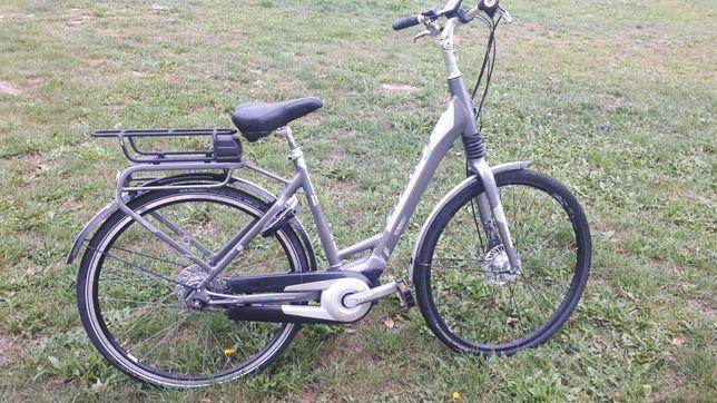 Rower elektryczny Giant Prime + silnik centralny Yamaha