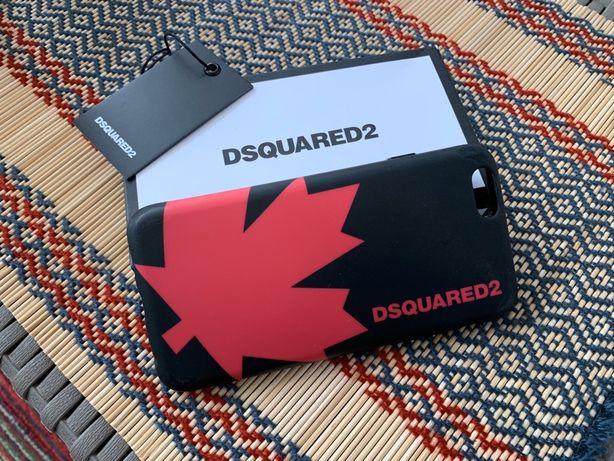 DSQUARED2 фирменный чехол для iPhone 6/6s фуксия, кейс, case, cover