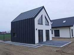 Dom typu Stodoła 35 m - na zgłoszenie , budowany na działce klienta