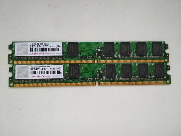 Оперативная память DDR2 Transcend 2GB
