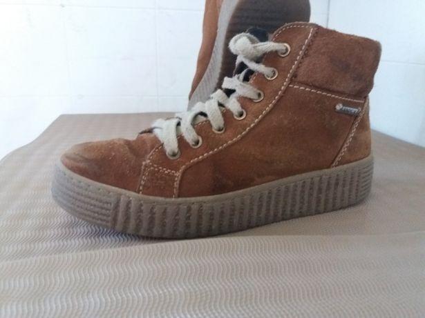Buty na koturnie skórzane Lasocki rozmiar 37