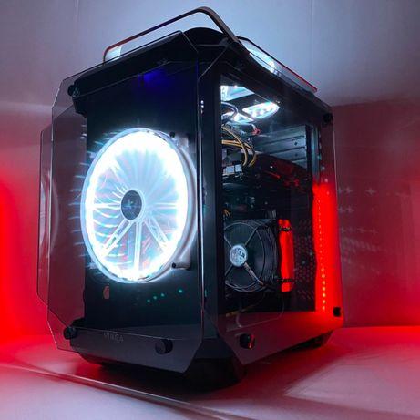 Игровой компьютер 8 ядер AMD FX 16 гигабайт оперативной памяти ССД 120