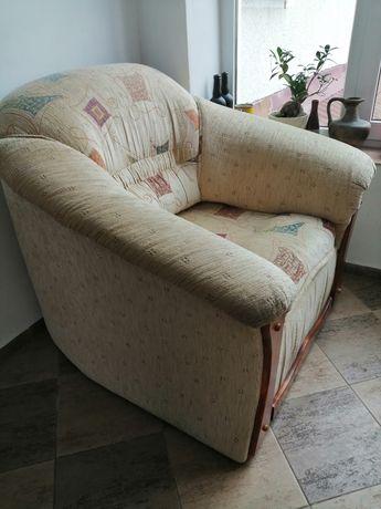 Fotel z możliwością spania