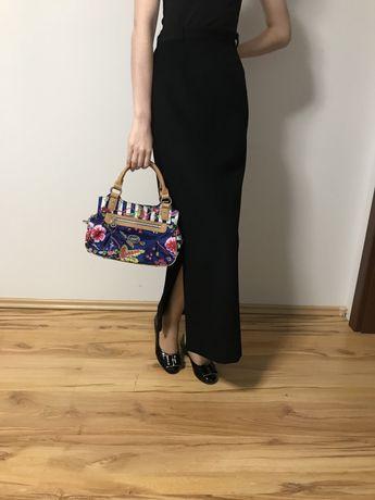 Długa spódnica vintage szyta na miarę.