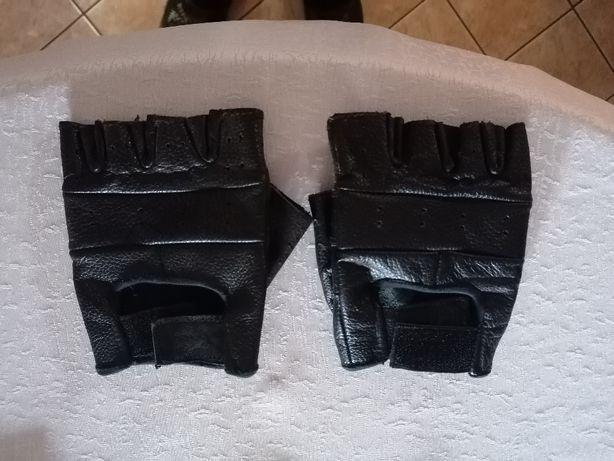 Rękawice skórzane letnie