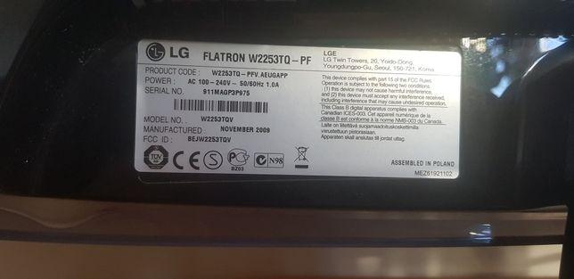 Monitor lg flatron w2253tq