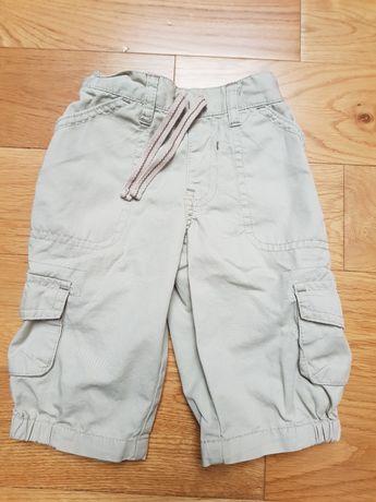 Spodnie materiałowe r. 68