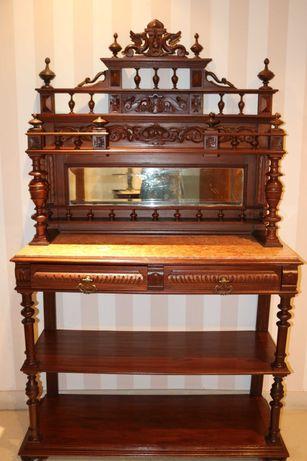 Aparador/louceiro antigo, decorativo e funcional