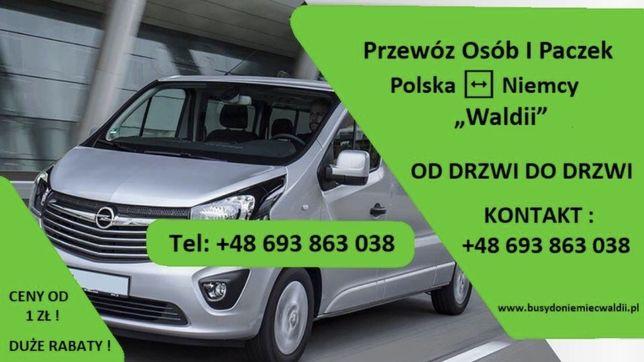 Busy do Niemiec * Przewóz Osób i Paczek* Polska - Niemcy *