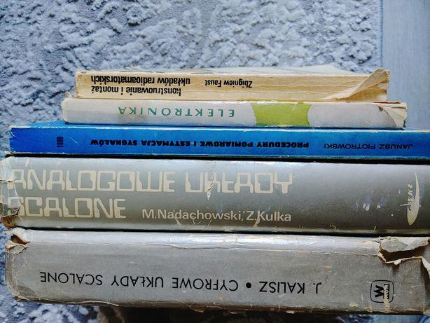 Książki dla elektronika zestaw 5 szt. Układy scalone