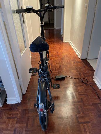 Bicicleta eletrica dobravel BTwin 500