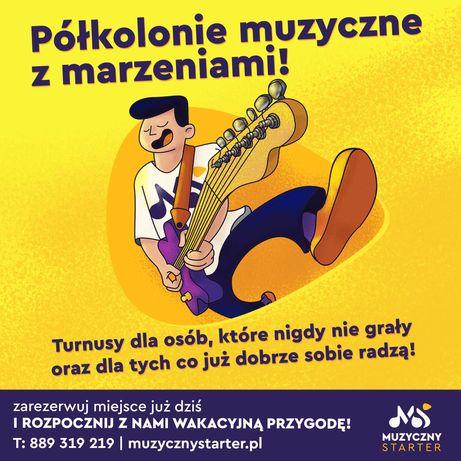 Półkolonie muzyczne z marzeniami- wakacje 2021 (Reda i Gdynia)