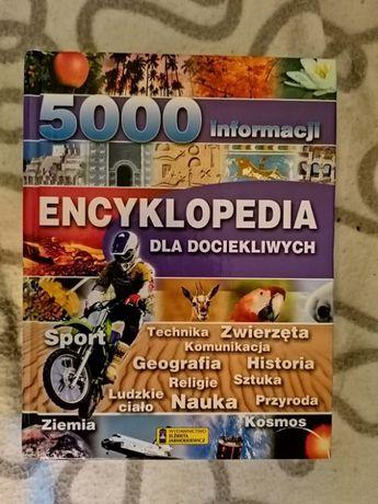 Encyklopedia dla dociekliwych 5000 informacji -wspierasz -aktualne