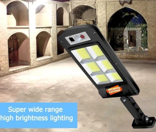 Lampa solarna 110w SENSORY RUCHU