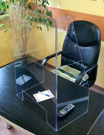 Osłona ochronna biurko lada przeciwwirusowa antybakteryjna BHP