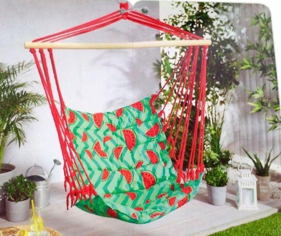 Krzesło brazylijskie ogrodowe huśtawka hamak NOWE