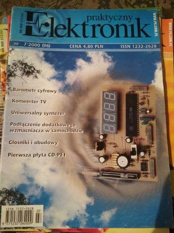 10 numerów czasopisma Praktyczny Elektronik, dla kolekcjonera