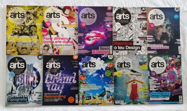 Computer Arts revistas - Portugal