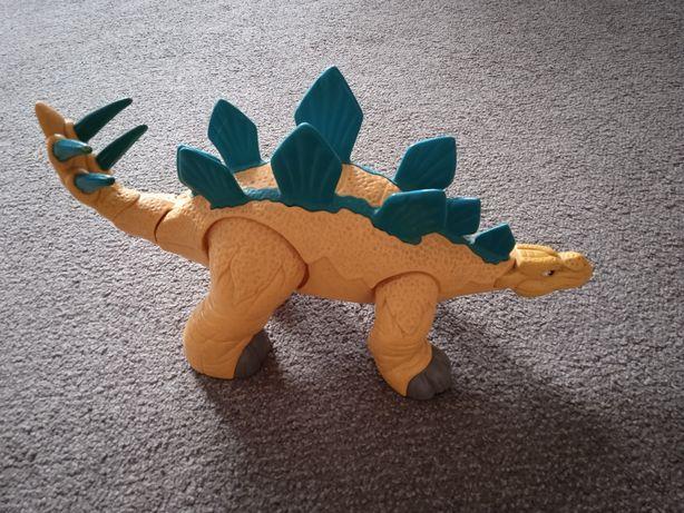 Динозавр. Лапки ,хвіст та голова рухаються