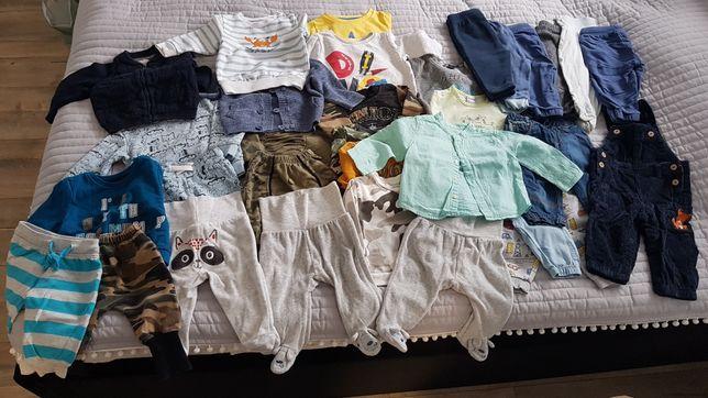 Paczka ubrań dla chłopca od 3-6ms