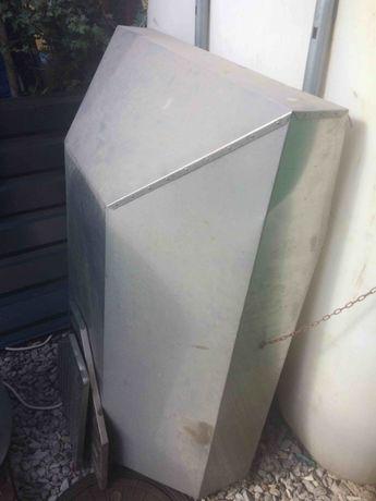 Okap z kwasówki 100x130 + wentylator tunel. S&P