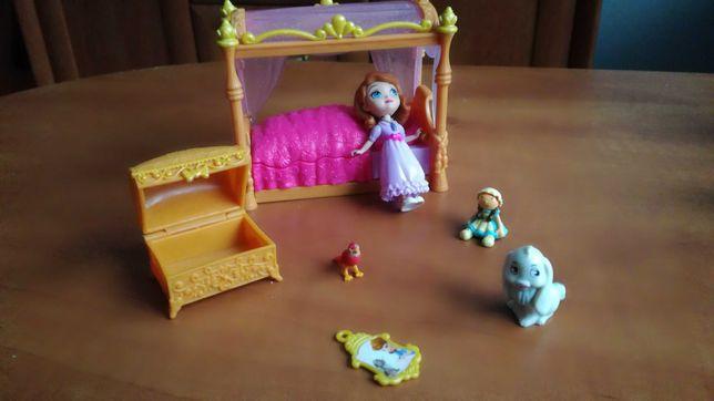 Księżniczka Zosia Disney zestaw sypialnia. Unikat