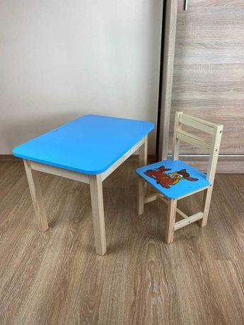 Шикарный детский набор: стол и стул для ребенка 1-6 лет