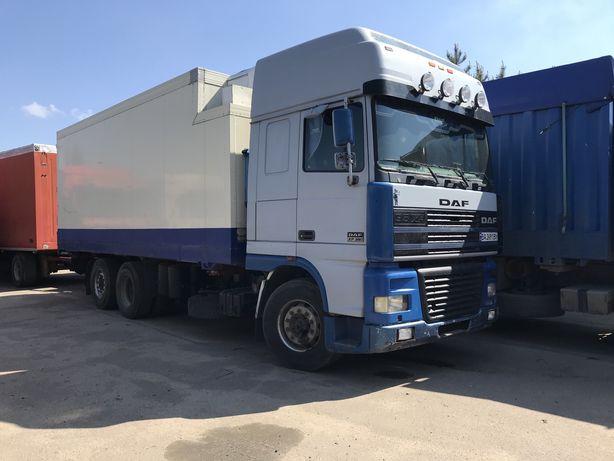 Даф контейнеровоз фургон изотерм бдф рефрежератор
