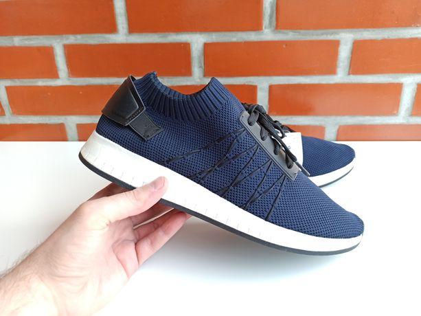 BERSHKA синие мужские кроссовки кеды размер 43, 45 Бершка Зара Европа
