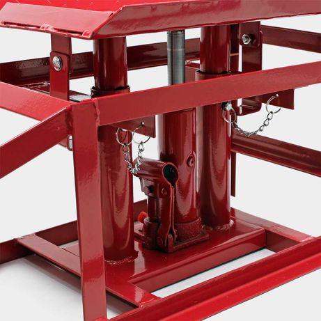 2x rampas hidráulicas de elevação 4 toneladas