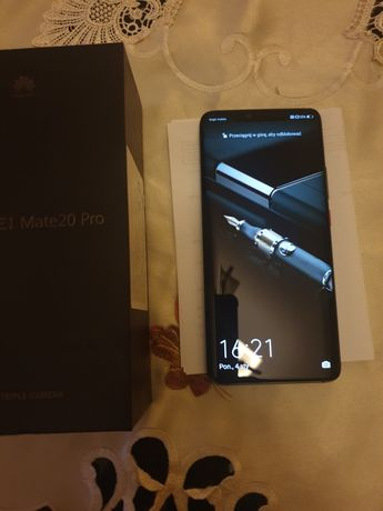 Huawei mate 20pro kolor black dual sim 6/128gb cena ostateczna