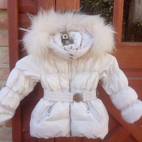Куртка пуховик зимняя детская