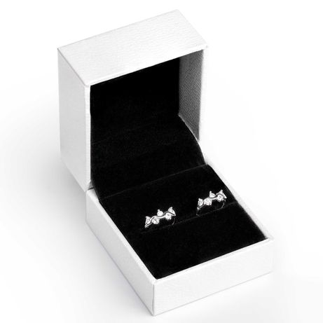 АКЦИЯ! Серебряные сережки 925 пробы из камнями Циркония