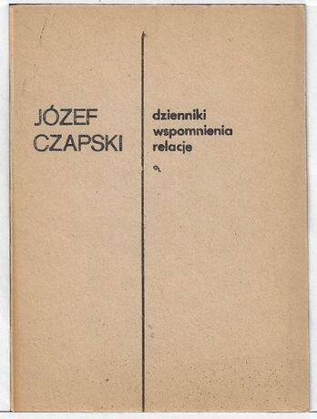 Dzienniki wspomnienia relacje - II obieg _ Czapski
