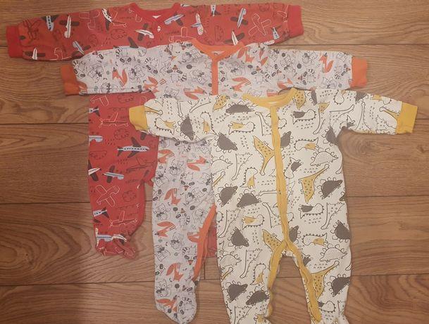 Piżamki pajacyki niemowlęce