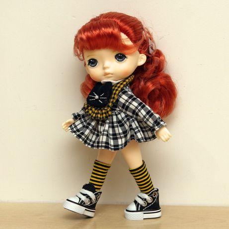 Lalka laleczka winylowa rudowłosa