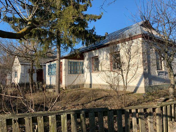 Дом в селе Охматов,40 соток, выход к речке.