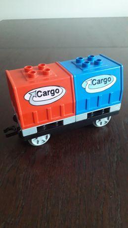 Lego duplo train wagon cargo