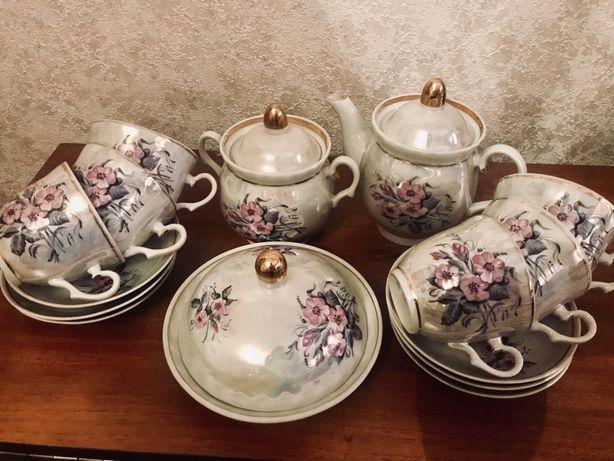 Чайный сервиз посуда