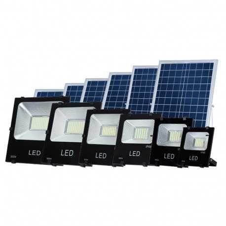 Projector LED Solar 20W + Controlo Remoto