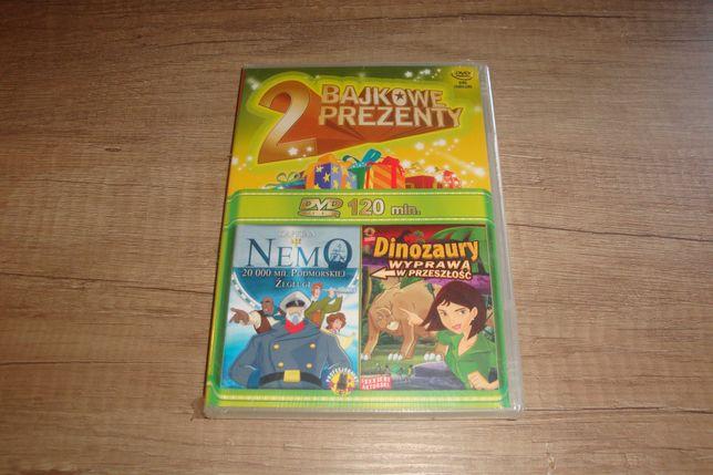 Nemo 20 000 mil podwodnej żeglugi + Dinozaury (DVD) folia